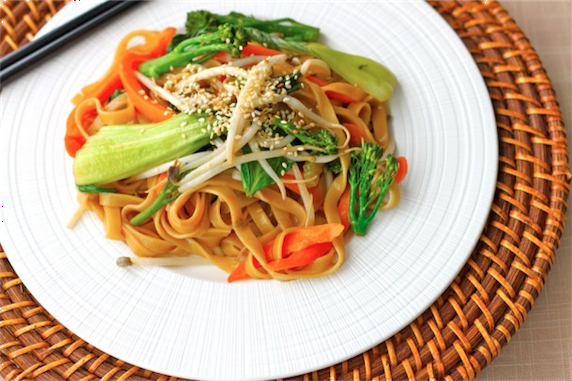 Sesame and Peanut Butter Stir Fry