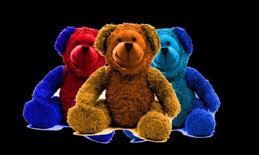 Little School Teddy Puzzles