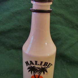Malibu Rum by Terry Linton - Food & Drink Alcohol & Drinks ( drink, mini bottle,  )