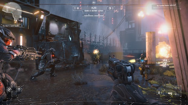 Up to 24 enemies on screen before frame-rate is affected in Killzone: Shadow Fall