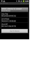 Screenshot of Bluetooth Control