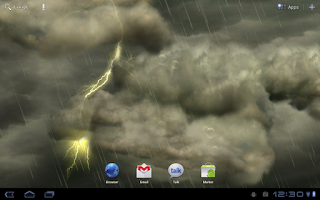 Screenshot of Thunderstorm Free Wallpaper