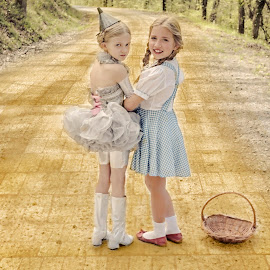 Yellow Brick Road by Beth Schneckenburger - People Fashion ( fantasy, wizzard, yellow, oz, yellow brick )