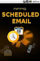 Screenshot of Email Scheduler
