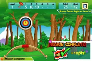 Screenshot of Fantage Bullseye