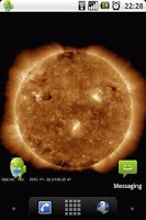 Screenshot of Sun Live Wallpaper Free