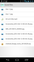 Screenshot of Android Explorer for OneDrive