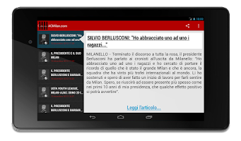 Screenshot of Milanews Milan News