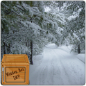 Snowfall Winter Road LWP icon