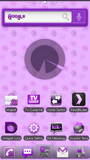 Galaxy S5 Apex Nova ADW Theme for Android