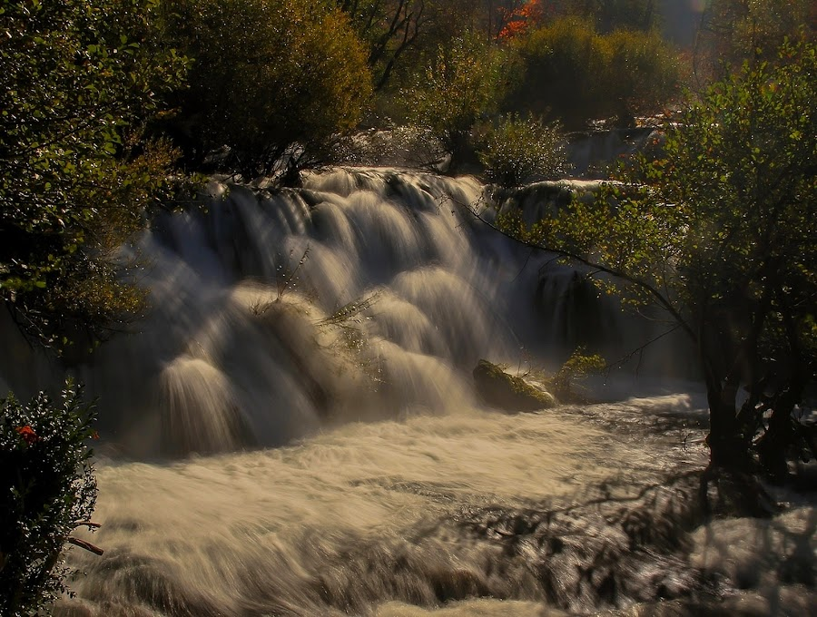 RIVER'S RAMPAGE UNA! by Jože Borišek - Landscapes Weather ( (bosna i harcegovina) )