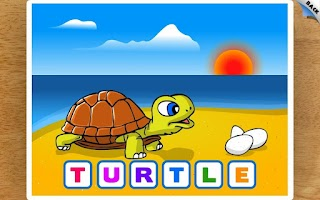 Screenshot of Kids Animal Word Puzzles