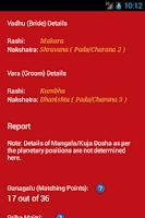 Screenshot of Kundli Matcher - Astrology App