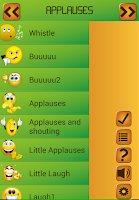 Screenshot of Funny Free ringtones + sounds