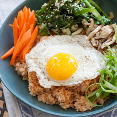 Vegetable Bibimbap