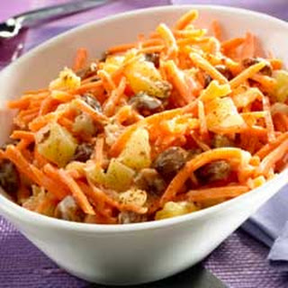 Shredded Carrot Salad With Pineapples Recipes