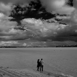 Romance in cloud by Sanjoy Mahajan - Landscapes Weather ( abstract, landscape photography, people )