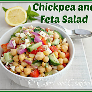 Chickpea and Feta Salad