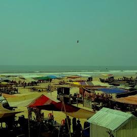 The Coast by Ayan Mukherjee - City,  Street & Park  Skylines