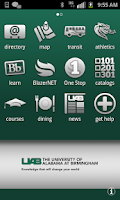 Screenshot of UAB