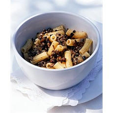 Penne with Wild Mushrooms and Creme Fraiche