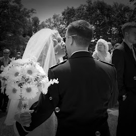 Wedding by Jessica Sacavage - Wedding Bride & Groom ( wedding, bubbles, flowers, bride, groom )