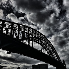 Sidney Bridge  by John Edwards - Travel Locations Landmarks