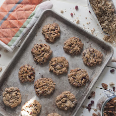 Cranberry Nut Trail Mix Cookies