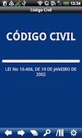 Screenshot of Brazilian Civil Code