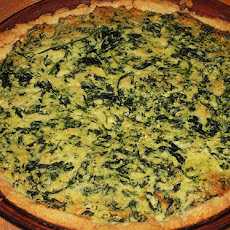 Impossibly Easy Spinach-Parmesan Pie