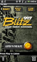 Screenshot of 99.7 The Blitz – WRKZ