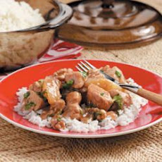 Pear Walnut Chicken