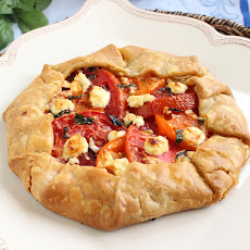 Tomato and Goat Cheese Crostata