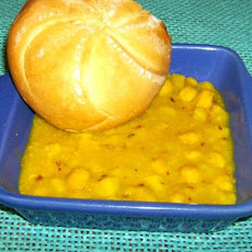 Aloo Channa Tarkari  (Potato and Garbanzo Beans in a Curry)