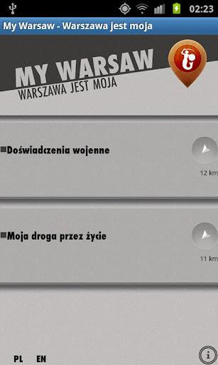 My Warsaw - Warszawa jest moja