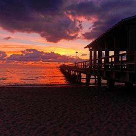 by Patrick Sherlock - Landscapes Sunsets & Sunrises
