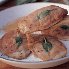Veal Scallops with Prosciutto and Sage (Saltimbocca alla Romana)