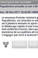 Screenshot of Economie et Bourse