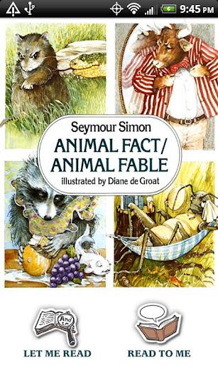 Animal Fact Animal Fable