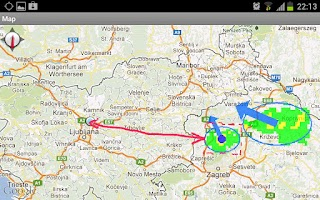 Screenshot of Weather Alarm