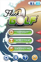 Screenshot of Flick Golf!