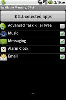 Screenshot of Advanced Task Killer