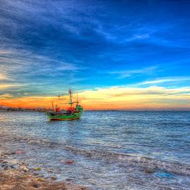 lonely by Ujang Mashur - Landscapes Sunsets & Sunrises