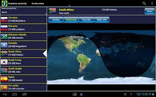 Screenshot of World Info Pro
