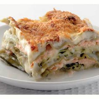 Salmon Lasagna Vegetable Recipes