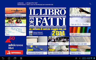 Screenshot of Libro dei Fatti 2014