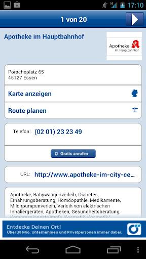 Apotheken-Suche Deutschland