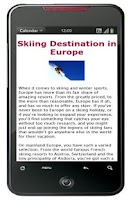 Screenshot of 20 Europe Skiing Destinations