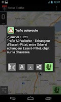 Screenshot of Swiss Traffic Road Live