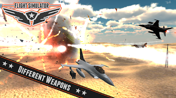 Screenshot of Battle Flight Simulator 2014